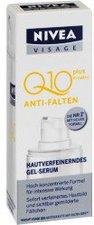 NIVEA Visage Anti-Falten Q10Plus Hautverfeinerndes Gel-Serum (30 ml)