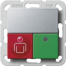 Gira Ruf-/Anwesenheitstaster, alu 590226