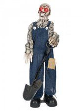 Zombie Totengräber Halloween Kostüm