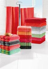Cawö Life Style Uni Waschhandschuh bordeaux (16 x 22 cm)