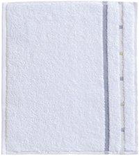 Vossen Quadrati Seiftuch weiß/kiesel (30 x 30 cm)
