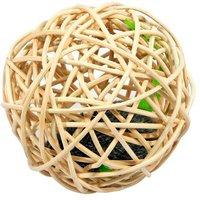 Kerbl Weidenball mit Soundchipmaus (4,5 cm)
