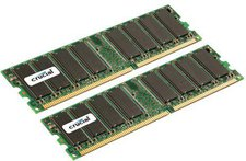 Crucial 2GB Kit DDR PC-2700 (CT2KIT12872Y335) CL2.5