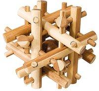 Fridolin IQ-Test - Puzzle aus Bambus - Magic Stick (17492)