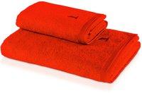 Möve Superwuschel Handtuch orange (50 x 100 cm)