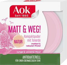 Aok First Beauty Mattierender Kompaktpuder (7 ml)