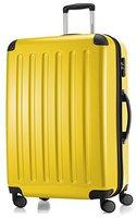 Hauptstadtkoffer 4-Rollen-Hartschalen-Trolley 75 cm gelb