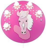 Elobra Deckenrondell Pony 5-flg. + 20 LED