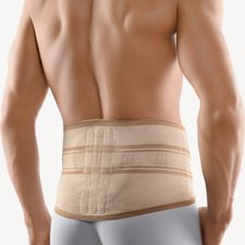 Bort StabiloBasic Rückenbandage mit Pelotte haut Gr. 2 / XS