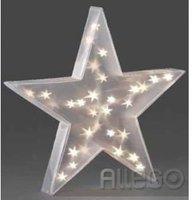 Konstsmide LED Kunststoffstern hängend