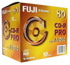 Fuji Magnetics Fujifilm CD-R Audio