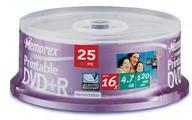 Memorex DVD+R bedruckbar