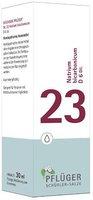 A. Pflüger Biochemie 23 Natrium bicarbonicum D 6 Tropfen (30 ml)