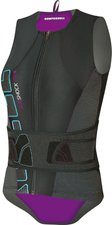 Komperdell Airshock Vest Women With Belt blau