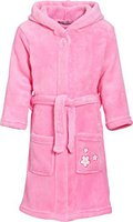 Playshoes Fleece-Bademantel Blumen