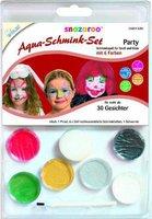 Snazaroo Schminkset Party 6 Farben