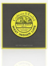 Crabtree & Evelyn West Indian Lime Holzrasierschale Nachfüllung (100 g)