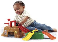 Fisher Price Little People - Wheelies Play N Go Construcion Site