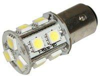 Eufab SMD-LED BA15D WEIß