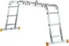 layher Topic 1057 Kofferraumleiter 4x4 Sprossen