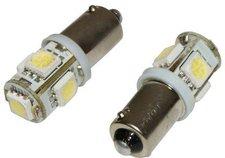 Eufab SMD-LED BA9S weiß