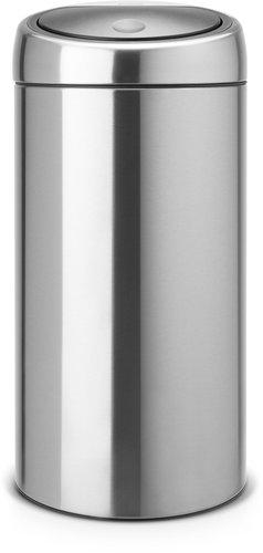 Brabantia Twin Bin (2x20 L) matt stahl