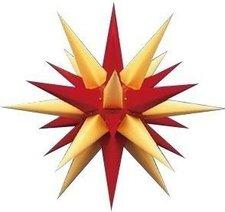Herrnhuter Sterne Stern gelb rot Innenbereich (60 cm)