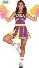 Sexy Cheerleader Karnevalskostüm
