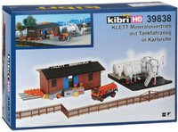 Kibri Klett Mineralölvertrieb Karlsruhe mit Tankfahrzeug (39838)