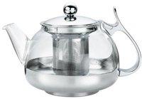 Küchenprofi Teekanne mit Edelstahl, 1,2 l