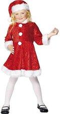 Smiffys Kinderkostüm Mini Miss Santa