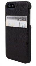 Hex Solo Wallet Case Schwarz (iPhone 5)