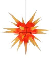 Herrnhuter Sterne Stern roter Kern gelbe Spitze Innenbereich (70 cm)