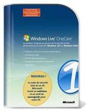 Microsoft Windows Live OneCare v1.5 (Win) (3 user) (FR)