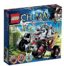 LEGO Legends of Chima - Wakz Wolfstracker (70004)
