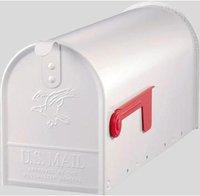 Karibu Elite US-Mailbox weiß