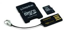 Kingston microSDHC Mobility Kit 8GB Class 10 (MBLY10G2/8GB)