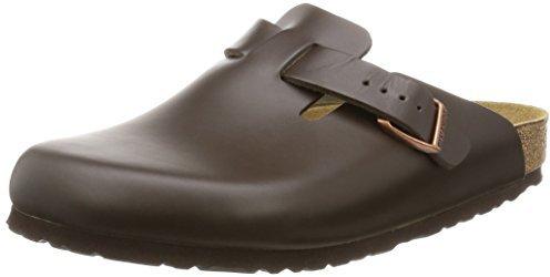 Birkenstock Boston Leather dark brown