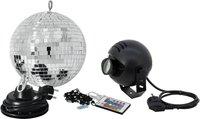 Eurolite LED Spiegelkugel-Set 20cm