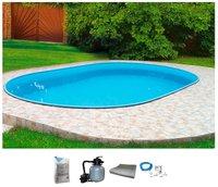 my pool Ovalpool Premium 700x300x120cm (6tlg. Set)