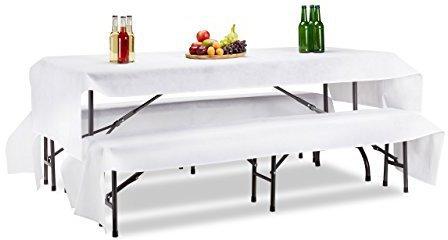 Tischdecken für Bierzeltgarnituren