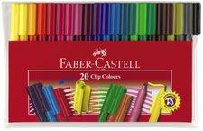 Faber-Castell 20 Clip Colours (155020)