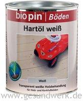 biopin Hartöl Weiß 0,75 l