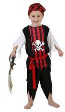 Atosa Verkleidung Totenkopf-Pirat
