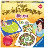 Ravensburger Mandala-Designer Little Pets 2-in-1
