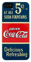 Coca-Cola Hardcover Old 5cents V (iPhone 5)