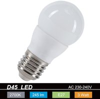 MÜLLER-LICHT LED 3W E27 Warmweiß (24549)