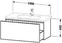 Duravit Delos Waschtischunterbau (6236)