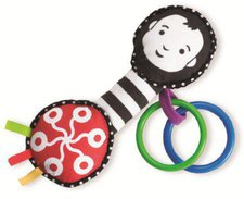 Manhattan Toy Wimmer Ferguson Grasp and Grow Rattle