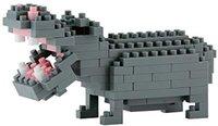 Kawada Nanoblock - Nilpferd